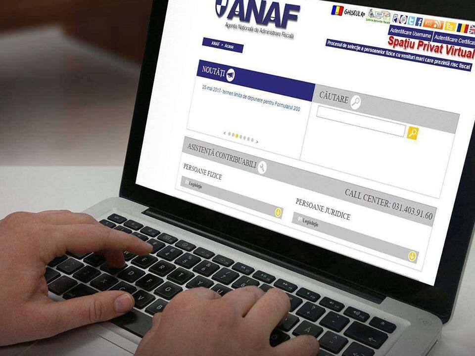 Inrolare in SPV cu semnatura digitala fiscal online